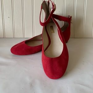Louise et Cie Red Flats